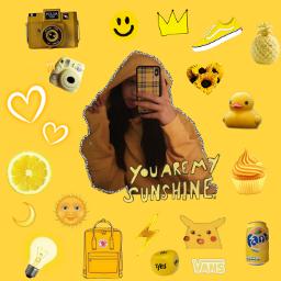 freetoedit yellow yellowflower tumblr tumblrstickers