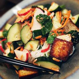 christmaseve plantbased vegan vegetarian salad