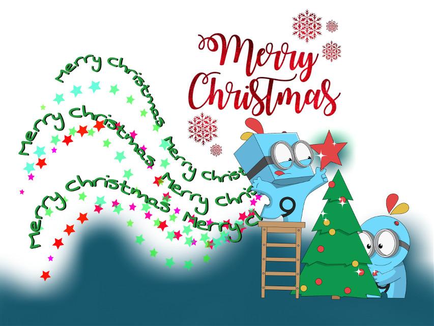 #freetoedit #merrychristmas picsart friends 👋🎅🤶❤❣🍃💙 #picsies #christmaspicsies #texttool