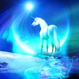 freetoedit ircskyloversdelight fantasyart fantasybackground unicorn