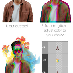 freetoedit quicktip howto glitcheffect coloredsmoke