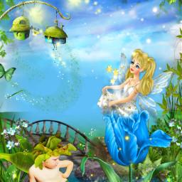 freetoedit fantasyart fantasyworld fairies elves