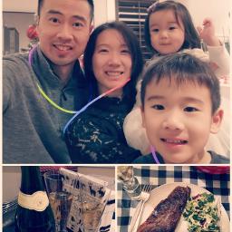 ahappynewyear familyselfie suvide steakdinner