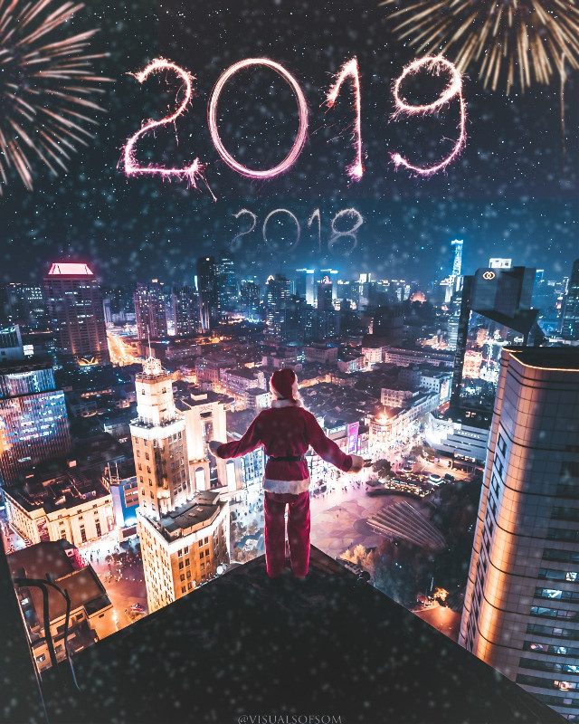 Happy new year guys 🤗 #newyear2k19  #freetoedit #newyear2019 #celebration #featureme #visual @picsart @sombhagyawant2  #newyear
