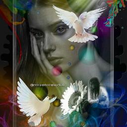 lovequotes colorfulbackground pigeons freetoedit