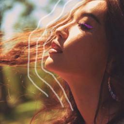 freetoedit sunshine girl glitter