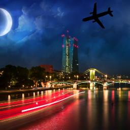 freetoedit citylights city cityscapes skyline