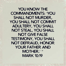 adultery murder honor command false