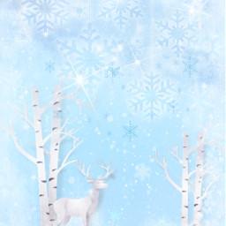 freetoedit nature wallpaper clipart winterbackgrounds