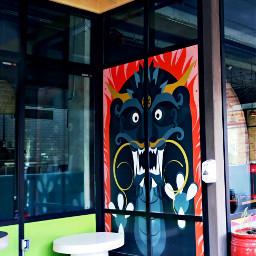 myphotography restaurant dragon vibranteffect freetoedit
