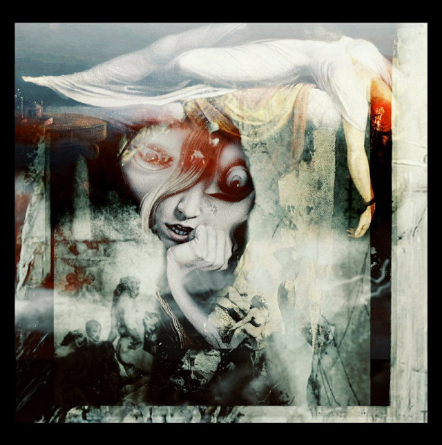 🖤  #myedit #dark #art #darkart #messy #babelart #photography #doubleexposure #thoughts
