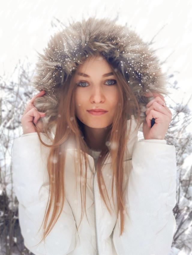 #freetoedit #instagram #instaphoto #instalike #instagood #instashot #instalook #winter #girl #beauty #january #goodday #snow #white #photo #photosession #edit #look #cold #fairytail #niceday #инстаграм #фото #зима #снег #январь