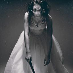 freetoedit horror monster queen creepy