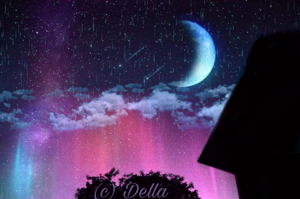 #freetoedit #vipshoutout #nightsky #moon #night #stars #sky