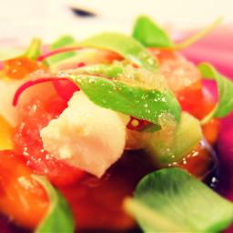 salad cuisine yummy green