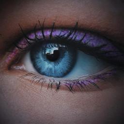 freetoedit remixit eye blue oceaneyes