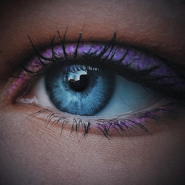 Milky weye💕 #freetoedit  #remixit #eye #blue #oceaneyes