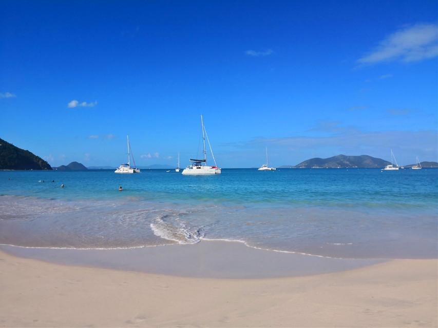 #beach #sand #sea #blue #tropical #water #waves  #freetoedit #caribe #carribean #caribbean