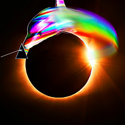freetoedit lunareclipse2019 rainbow pinkfloyd dolphin irctotallunareclipse