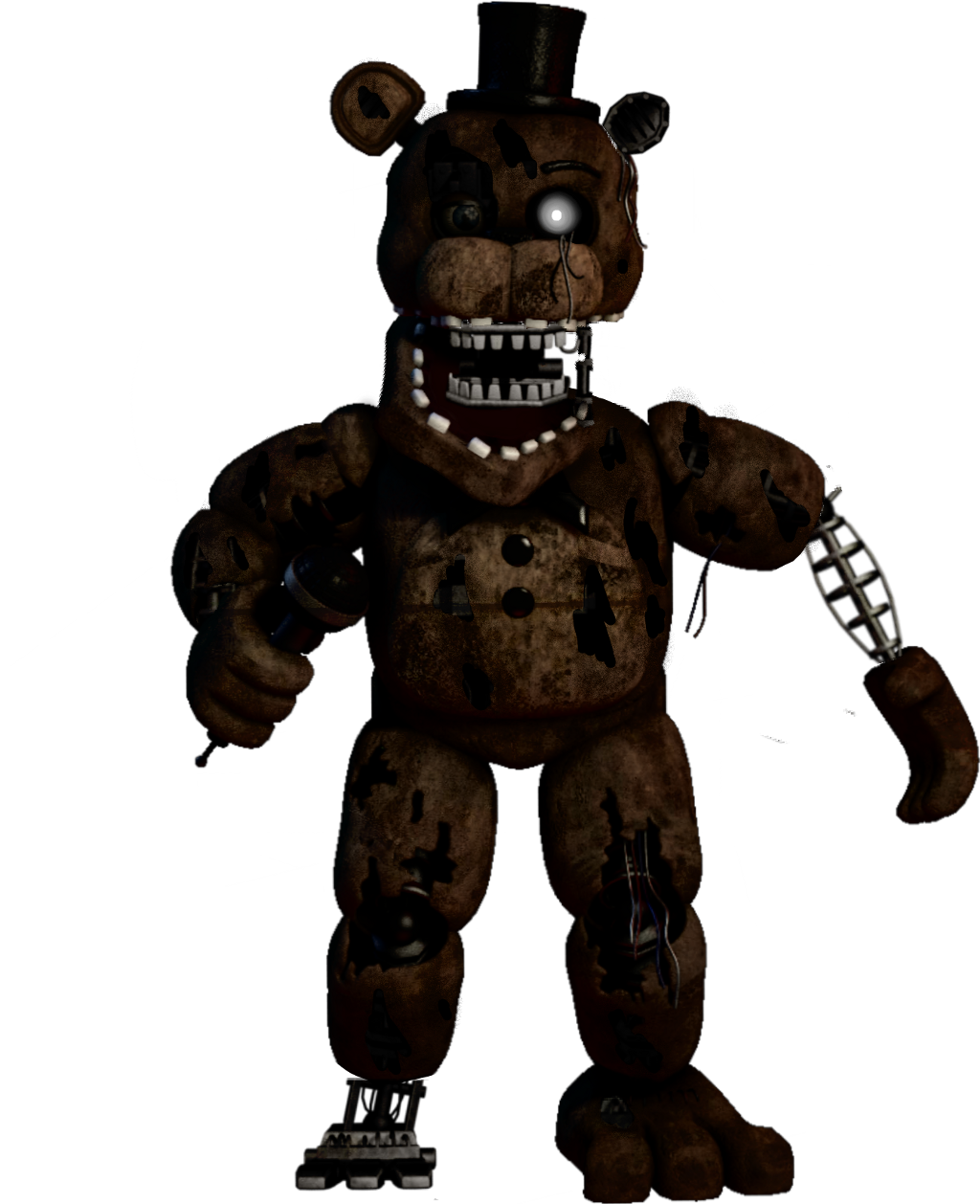 Broken Withered Freddy - Sticker by hello