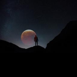 freetoedit moon stars lunareclipse2019