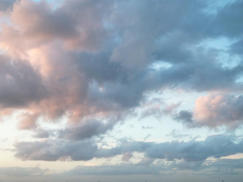 Cotton candy sky 🤗💙💕 #skywatching #pinkclouds #clouds #myclick  #freetoedit