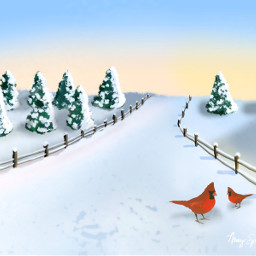 freetoedit dcwintertime snow fence road