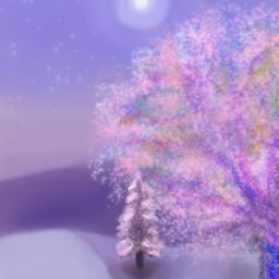 freetoedit dcwintertime wintertime pink pinknight