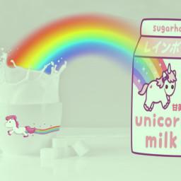 funedit unicorn freetoedit ircmilkandsugar milkandsugar
