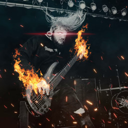 freetoedit band bass music fire