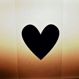 freetoedit black heart heartshape mywork