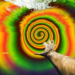 freetoedit psyart trippy fractal swirled
