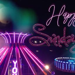 freetoedit sunday happysunday neon neonpink