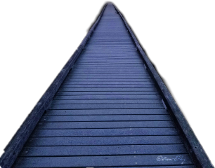 boardwalk bridge path pathway stormeday