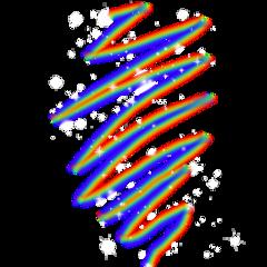 spiral ftu glitter rainbow lgbt