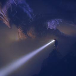 freetoedit light dragon beams exploring irclightbeam