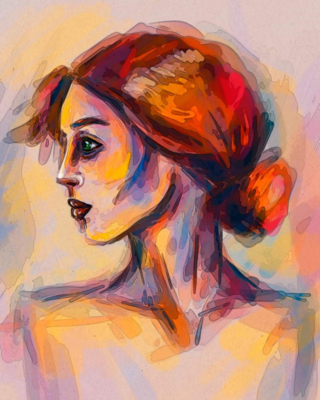 #drawing #illustration #myart #art #newart #interesting #work #adobephotoshop #like #followme #cutegirl #redhair