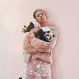 freetoedit panda pink cutouttool adjusttool