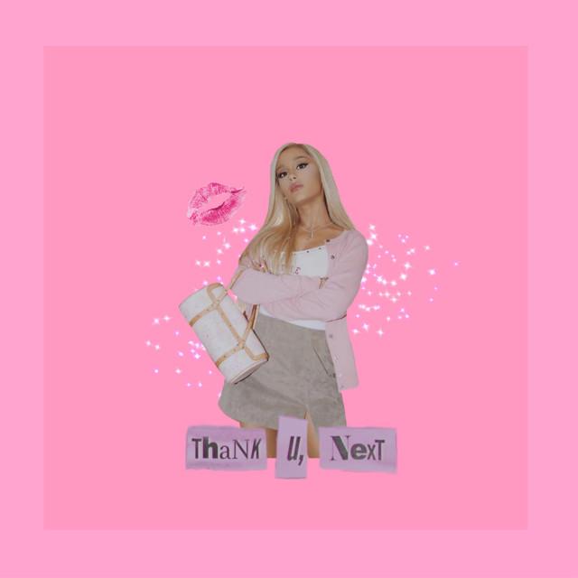 #freetoedit thank u next bitch #thankyounext #arianagrande #pink