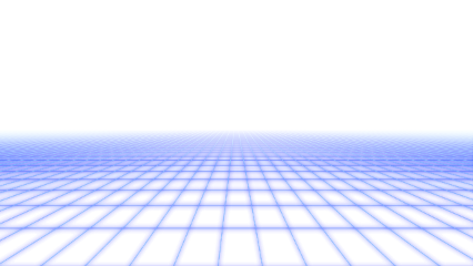 ftestickers grid perspective neon blue