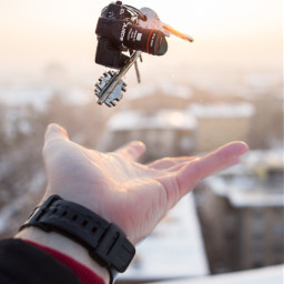 sundown keys key camera sony