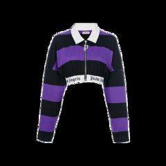 purple sweatshirt croptop cropped clothes freetoedit