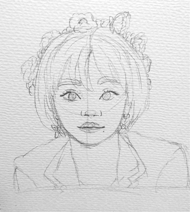 The sketch of yesterdays drawing!💗   #freetoedit #kpopfanart #kpop #art #drawing #myart #mydrawing #fanart #twice #chaeyoung