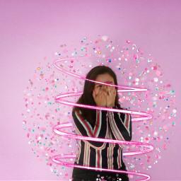 freetoedit girl glitter shine shimmer