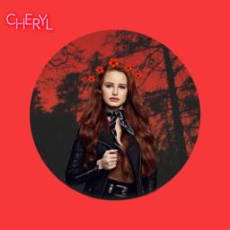 freetoedit madelainepetsch cherryblossom riverdale choni