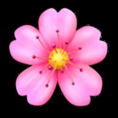 flower цветок emoji эмоджи эмодзи freetoedit