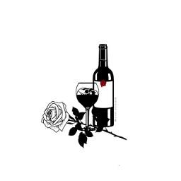 freetoedit rosa flor sangre vino