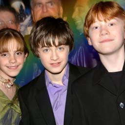 friends harrypotter hermione ronald emmawatson freetoedit