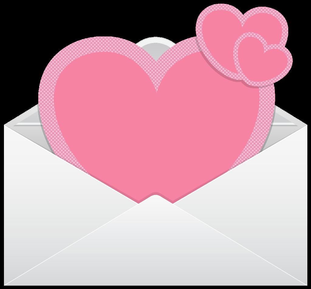 #ftestickers #love #letter #envelope #hearts #pink