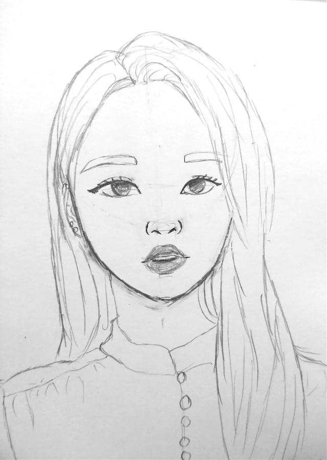 Yves has stolen my heart💘😍   #freetoedit #kpopfanart #kpop #art #drawing #myart #mydrawing #fanart #loona #yves
